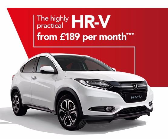 Honda HR-V Business Offer
