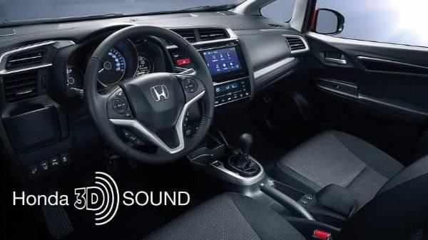 Honda Jazz - 3D Sound