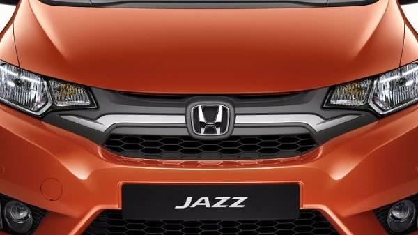 Honda Jazz Orange front grille