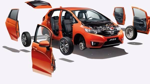 Honda Jazz Safety features