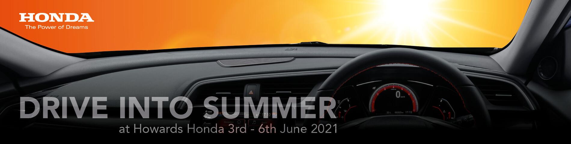 Honda WSM Drive into Summer Event