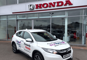 Howards Honda: Sponsors Local Breakfast Show on Tauntons 107.8 Tone FM