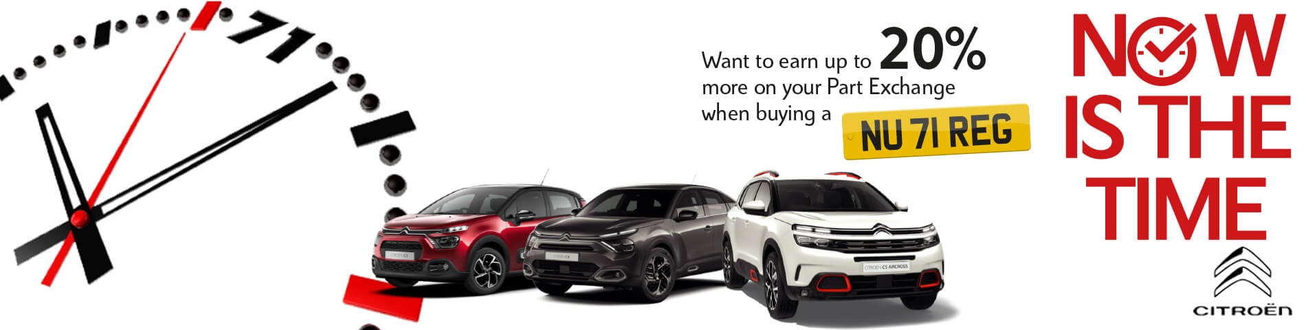 Howards Citroen Now is the Time Event