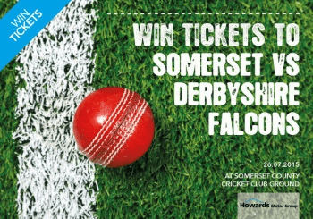 Win Tickets For The Somerset Vs Derbyshire Falcons Cricket Match