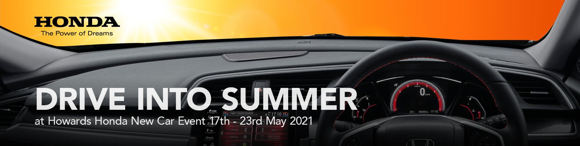 Howards Honda Drive Into Summer