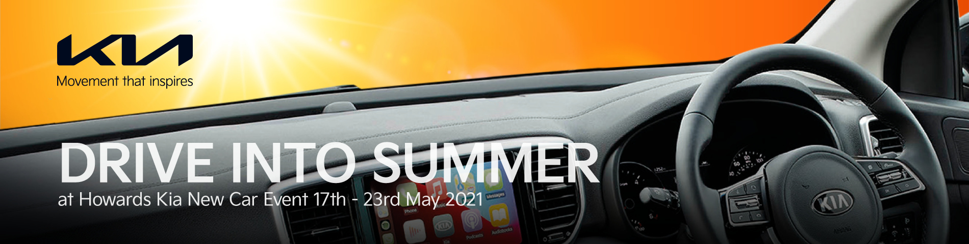 Howards Kia Drive Into Summer