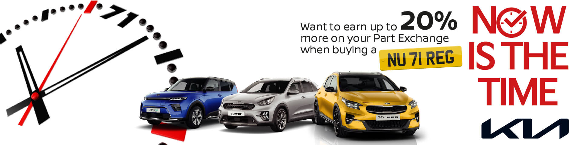 Howards Kia Now is the Time Event