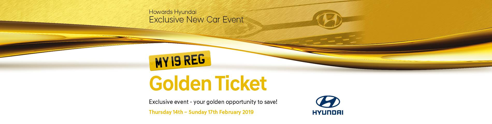 Hyundai Golden Ticket
