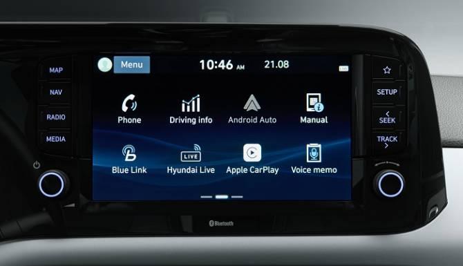 Hyundai i10 Entertainment