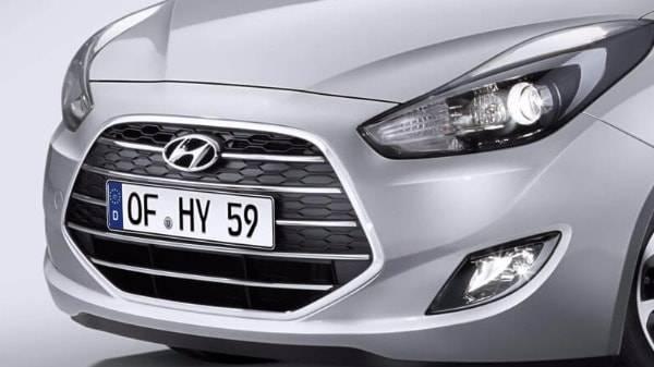 Hyundai ix20 grill design
