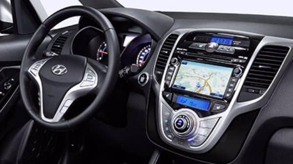 Hyundai ix20 interior