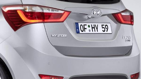 Hyundai ix20 rear design