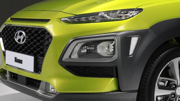 HYUNDAI KONA - SLEEK HEADLIGHT DESIGN