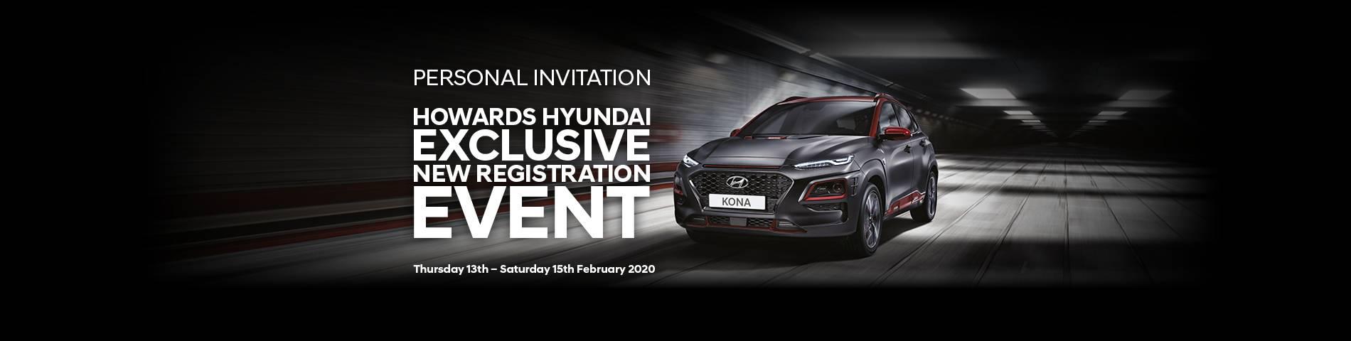 Hyundai New Reg Event