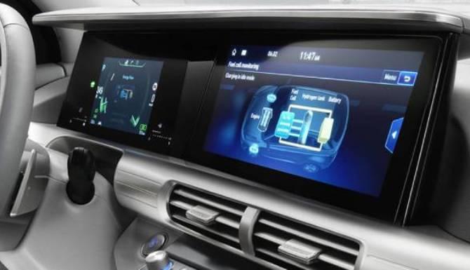 hyundai nexo heads-up digital dash display