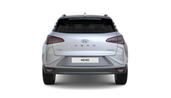 hyundai nexo rear view