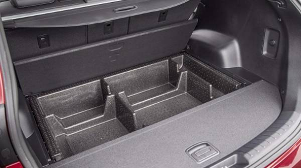 Hyundai Santa Fe Boot spaces