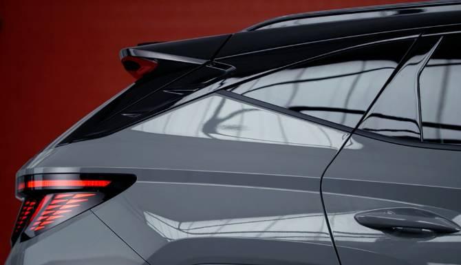 Hyundai Tucson Aerodynamic design