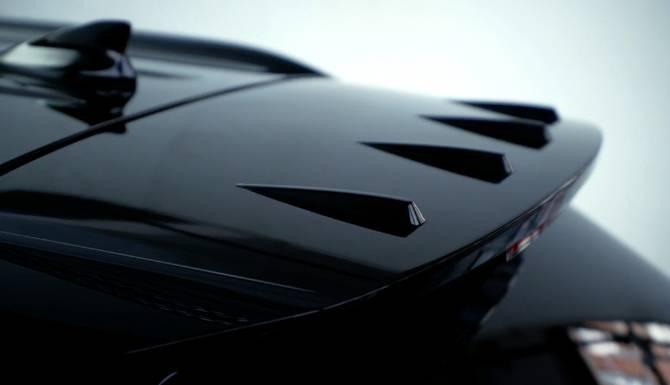 Hyundai Tucson spoiler
