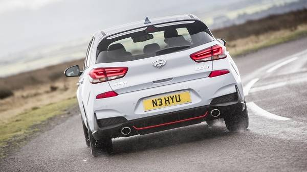 Hyundai i30 N rear view