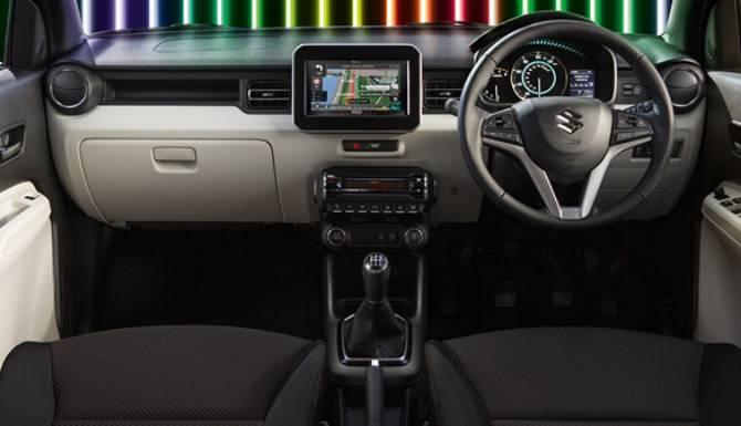 Ignis Dashboard Interior