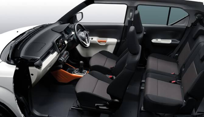 Ignis Interior All Seats