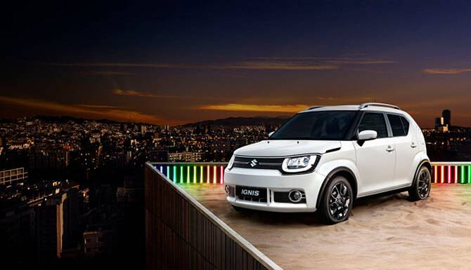 Ignis White Color Lifestyle