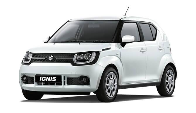 Ignis SZ3 White Color White Background