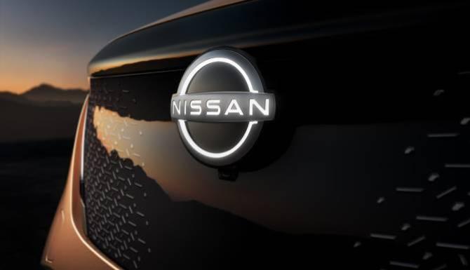 Nissan Ariya grille