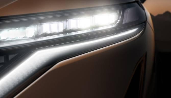 Nissan Ariya Headlights