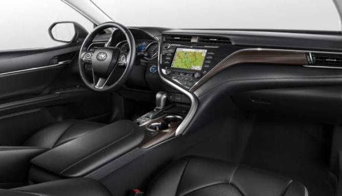 toyota camry drivers dashboard