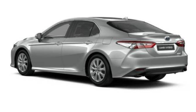 toyota camry rear view