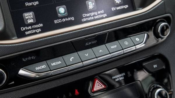 Ioniq audio controls