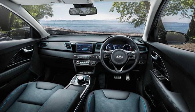Kia E-Niro Drivers View