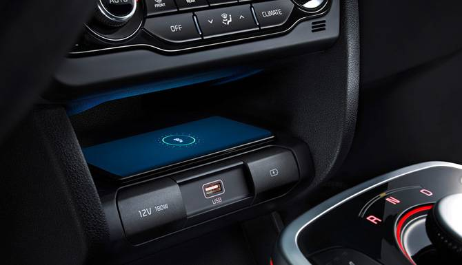 Kia E-Niro Wireless Charging