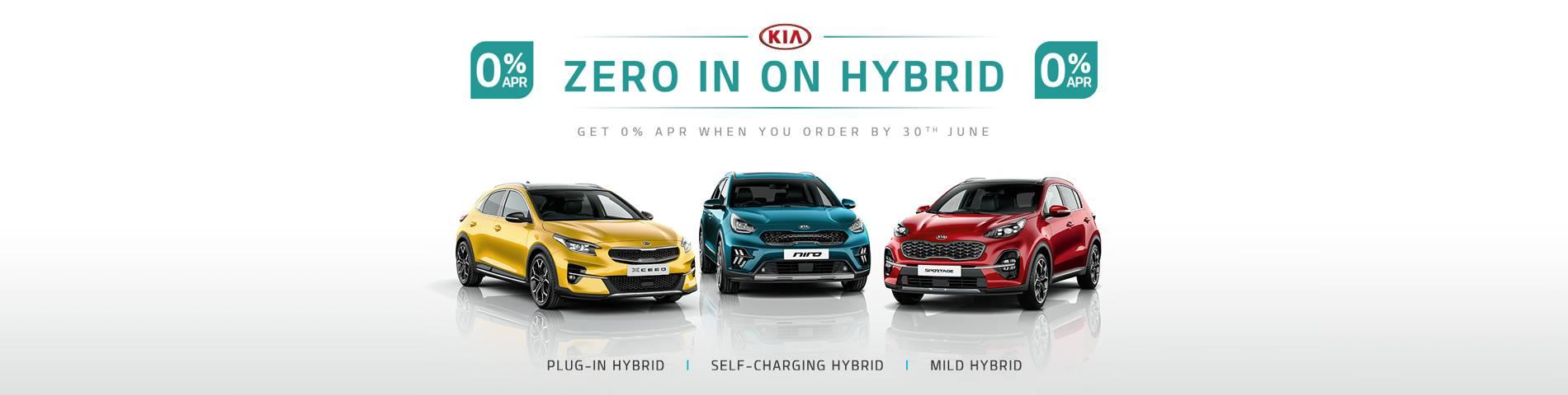 Kia Hybrid Zero Representative
