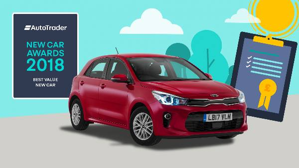 Kia Rio Best Value New Car