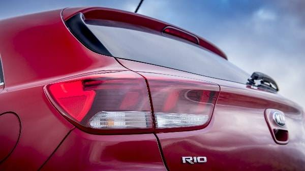 Kia Rio back tail lights