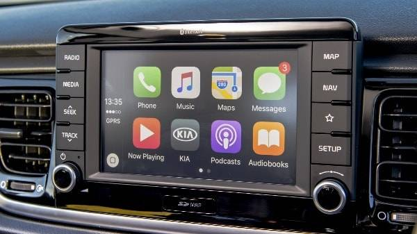 kia rio digital display