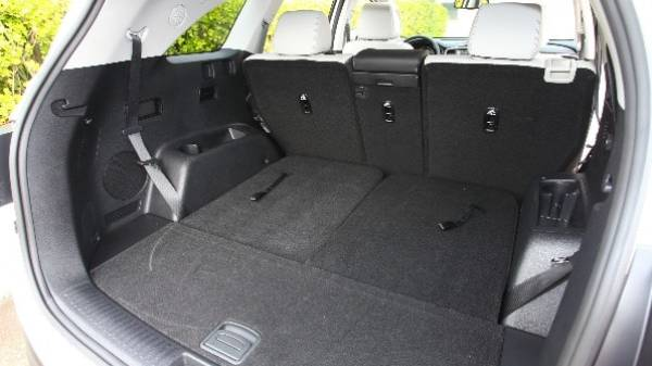 Kia Sorento - boot seats down