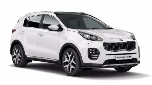 Kia Sportage - Exterior cut out