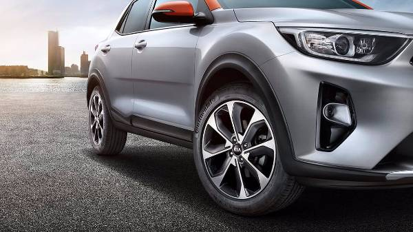 kia stonic alloy wheels