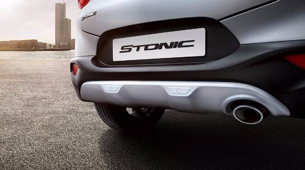 kia stonic rear detaling