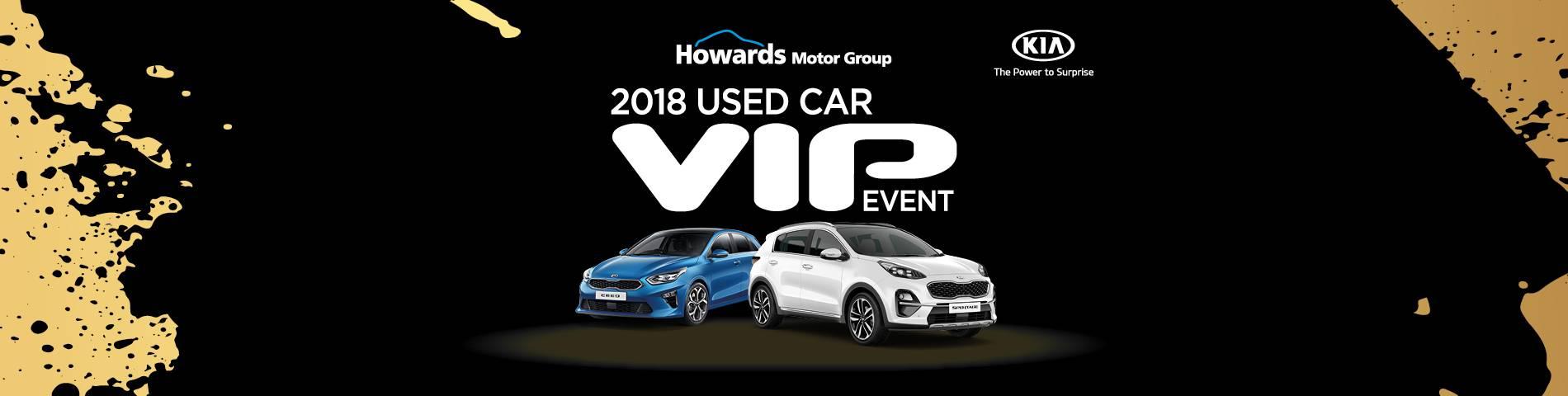 Kia VIP Event Banner