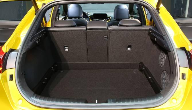 Kia XCeed Rear Boot Space