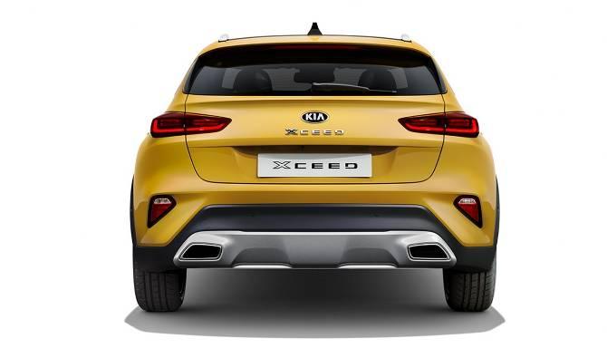Kia XCeed rear view