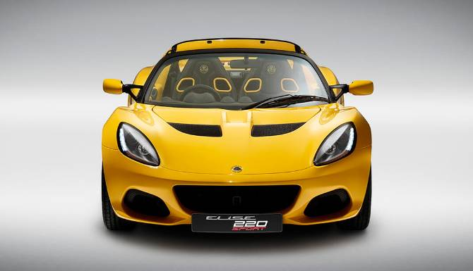 Lotus Elise Sport 220 Front View