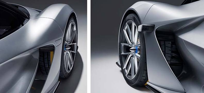 Lotus Evija Wheel Details