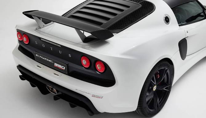 Lotus Exige 350 Back High View
