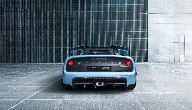 Lotus Exige 410 rear